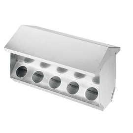 10 Holes Rabbit and Doves Hooper Feeder with Lid