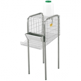 Cage Set for 4 Laying Hens
