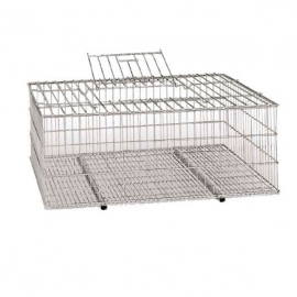 Metallic Transport Cage