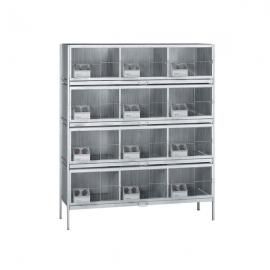 12 Compartments Dove Cage