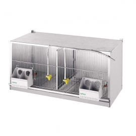 2 Compartments 1 metre Cage