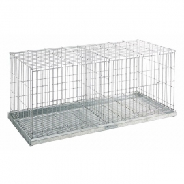 2 Compartments Cage