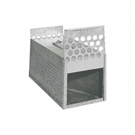 2 Compartment Galvanized Sheet Transpor Cage