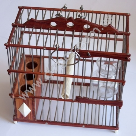 Rosewood Perching Cage