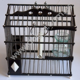 Grenadilla Wood Perching Cage