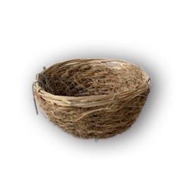Nido de Coco y Bambú