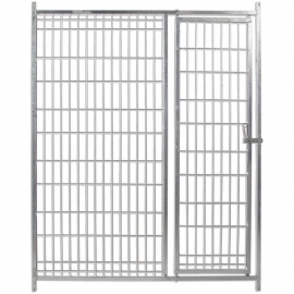 Front of Wire Mesh with Door