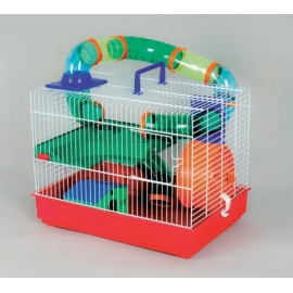 White Hamsters Cage