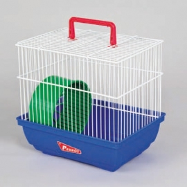 White Hamsters Cage ECO