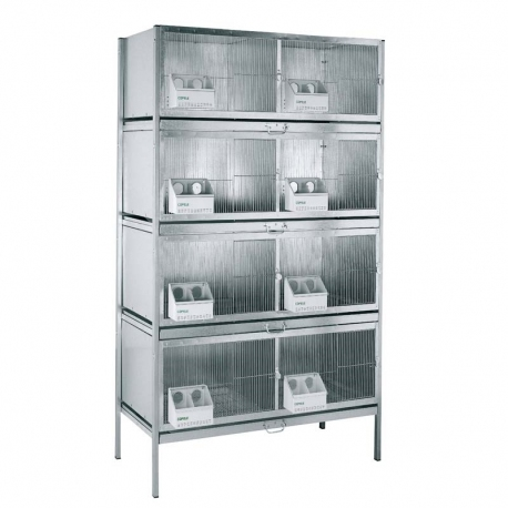 8 Compartments Dove Cage