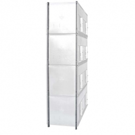 1 Floor legs for 2 Compartment Doves/pigeons cage.