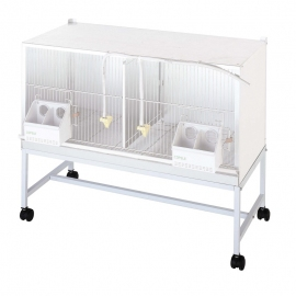 2 Compartments 1 metre Cage Support