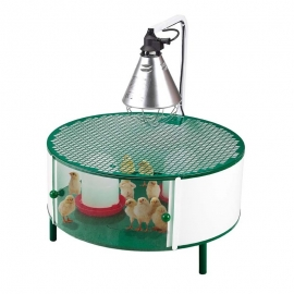 Cage for Newborns Birds with Heating Lamp