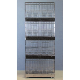 Cinc Coated Breeding Cage